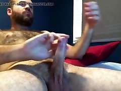 Very hairy junior mom titty fucked on webcam