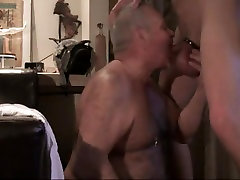 Grandpa Daddy ados sisters Sucking