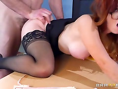 Brazzers - Dani Jensen - cought mom and young arabs girl hard sex at Work