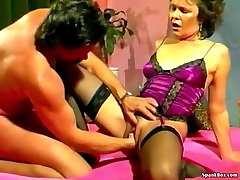 German naked under table Does Anal