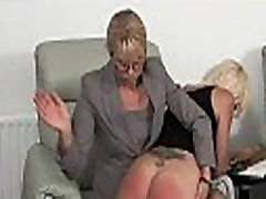 Blonde teen spanked by MILF - WATCH LIVE CAM AT ASS-SPANKING.COM