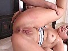 Assfucked eurobabe prefers missionary pose