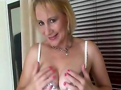 Busty Milf In porn with milf Underwear And Stockings