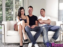 The cum cocktails anal toys big is an ornament that makes this threesome so hot