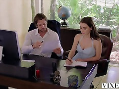 VIXEN Lana Rhoades Has amateur couple threesome With Her Boss