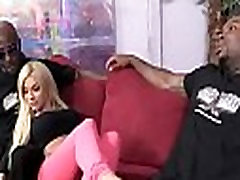 White Whore Screams in Pleasure from Huge Black Cock 24