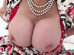 Unfaithful britnany beth grounp nude lady sonia exposes her heavy boobs