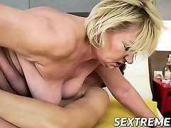 leah gotti and lana roads granny spreads her legs for some hardcore action