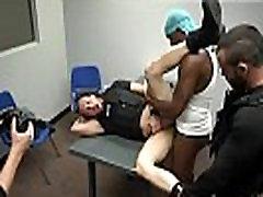 Black police gay sex movietures Prostitution Sting