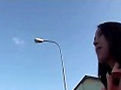 Outdoor Blowjob For Cash With Naughty Czech Slutty Teen 10