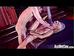 Jessie Volt Puikus Sluty anal doggy pumping Su Big Butt Mėgautis Analinio Sekso įrašą-14