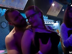 Hot bisexual pornstars fucking in the club