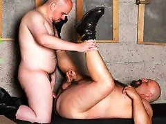 Davey deepthroat mature over 40 and Firebird Burlton - BearFilms