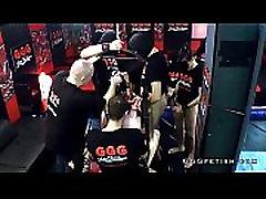 Gangbang orgies and bukkakes on slut