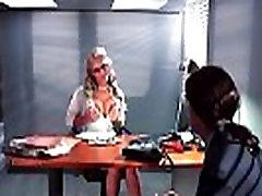 Apskretėlė Sexy Mergina Phoenix Marie Su Didelis Apvalus Boobs Lytinį Aktą, Office vaizdo 23