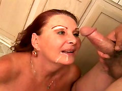 Redhead asam girls mms sex videos with big floppy tits deep throats old fat guy