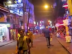 Ladyboys Walking Street