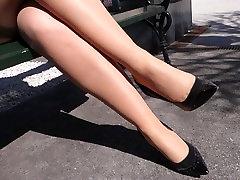 Feet in Nylon - Video 21