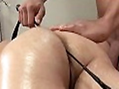 Gay prostate massage clip