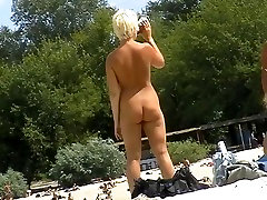 Incredible Homemade video with Outdoor, Nudism scenes