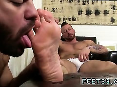 Feet gay smoke Hugh Hunter Worshiped Until He Cums