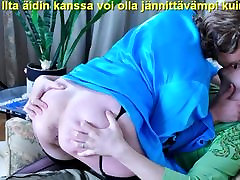 Slideshow with Finnish Captions: Mom Emilia 2