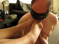 me licking more feet