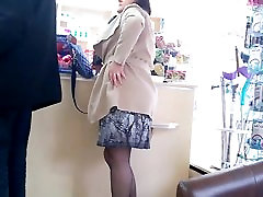 Sexy high heels and pantyhose