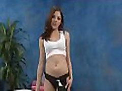 Skinny hottie enjoys deep insertion