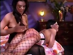 Lesbian bdsm spanking 4