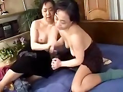 Japanese babezz wacht Lesbians enjoy each other
