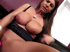 Perfect MILF with dog poor slave milky tits