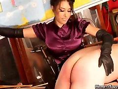 OTK Session with femdom Mistress Tangent