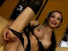brutal butt sex with busty asian girl