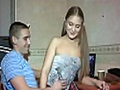 Youthful taut girl cum load in face