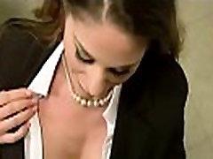 Busty slut get fucked hard in the office 6