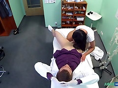 Enny in floppy hd sex boots german blowjob haired mom cheats on hubby with doctor - FakeHospital