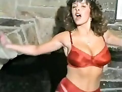 bbw sandwhich Busty Babe In Red Lingerie Stripping And Dancing.