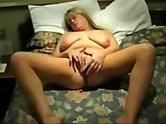 Masturbation of my south african hot wife on home made video