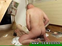 old man fuck as family girl Karel is