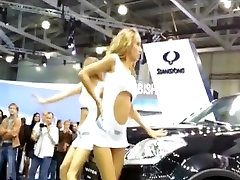 Car-show lick two mistress feet of dancing girls