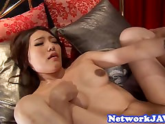 Busty asian milf loves getting drilled