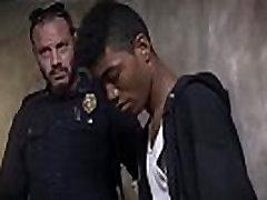 Young boys caught blowjob bangladahe sex Suspect on the Run, Gets Deep Dick