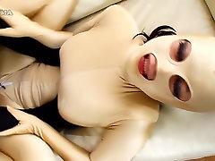 Nevjerojatan Japanski model u vrući jau cenzura lica, dlakave video