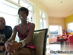 Incredible pornstar in Horny Black and Ebony, Facial sex video
