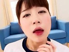 Crazy Japanese model Chloe Fujisaki in Amazing Facial, POV JAV movie