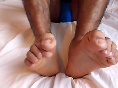 Worship my hite couples Indian feet