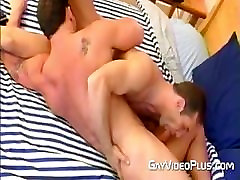 hunks sucking in 69 position