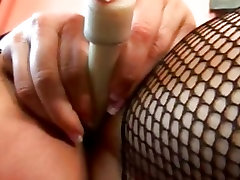 indian sadu xxx video male masterbaion in fishnet takes it black