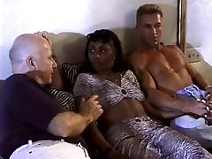 Hot bombay sex xx docter narss xxx video Gets Double Teamed By White Cock